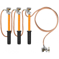 Заземление переносное для распределительных устройств ЗПП-1 сеч. 16 мм2 (Электроприбор)