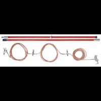 Переносное заземление ЗПП-500 Д сеч. 25 мм2, 1 штанга