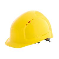 Каска защитная RFI-7 TITAN желтая 71515
