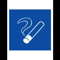 Знак указательный D03 Место курения (Пленка 200 х 200)