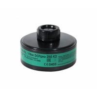 Запасной фильтр к противогазу ДОТ про 250 марки К2