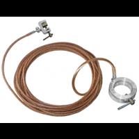 Заземление переносное для пожарных стволов ЗПС сеч. 16 мм2, дл. 10 м (Электроприбор)