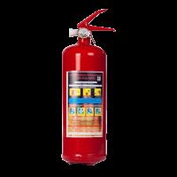 Огнетушитель ручной ОП-2з ВСЕ  ЗПУ, Алюминий (автомобильный)