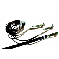 Переносное заземление ЗПЛ-10 сеч. 25 мм2, 1 штанга, с протоколом осмотра