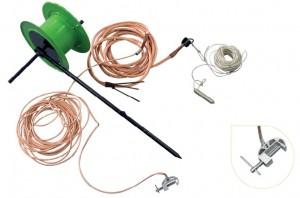 Заземление переносное для высоковольтных линий УНП-10БД сеч. 25 мм2 (наброс)