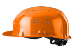 Каска защитная ЩИТ оранжевая