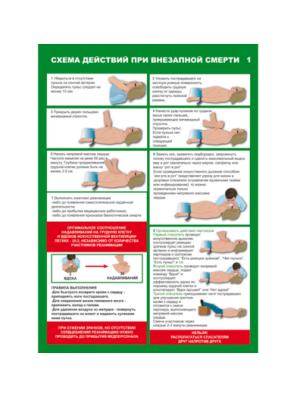 Плакат по первой помощи Первая помощь