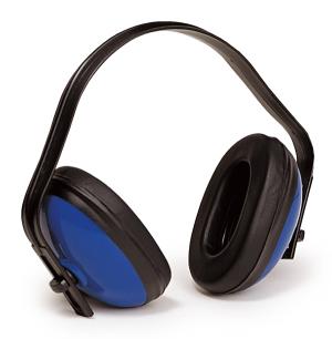 Наушники пассивные МАХ 300, комфортабельные, 25 дБ, синие