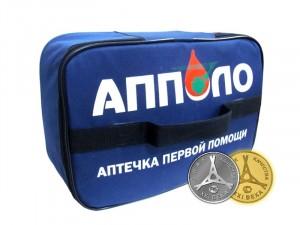 Аптечка первой помощи работникам (в сумке одноярусной) по приказу №169н от 05 марта 2011г.
