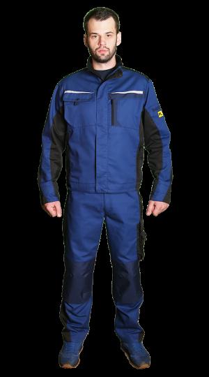 Куртка №2020 мужская, синий/тем.синий PENTALAB