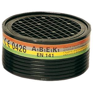 Запасной фильтр к респиратору Sacla EURMASK, объем 220 м3, А1В1Е1К1, органические, неорганические, кислотные газы, аммиачные соединения