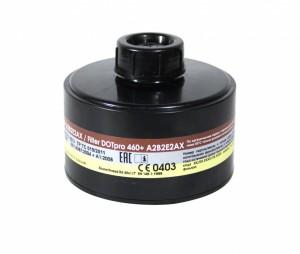 Запасной фильтр к противогазу ДОТ про 460 + марки  А2В2Е2АХ, А2В2Е2