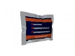 Комплект индивидуальный противоожоговый (ранозаживляющий) с перевязочным пакетом КИП