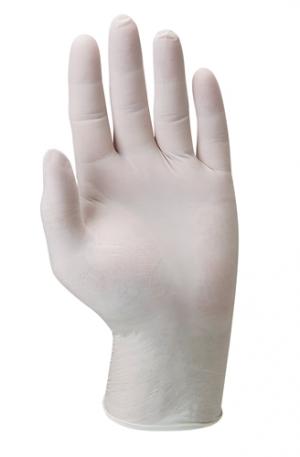Перчатки одноразовые латексные, с присыпкой, нестерильные, 0.125 мм, 23 см