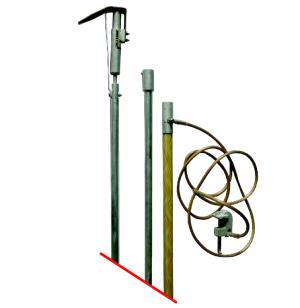Переносное заземление штанговое ПЗ 1150Ш, с протоколом испытаний