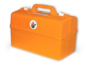Комплект медицинский для оказания первой помощи пострадавшим при пожаре (пластиковый чемодан) на 30 чел.