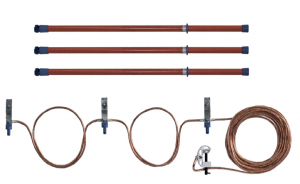 Переносное заземление ЗПЛ-110-3 Д сеч. 35 мм2, 3 штанги
