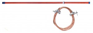 Переносное заземление ЗПЛ-110-1 Д сеч. 50 мм2, 1 штанга