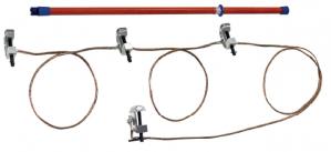 Переносное заземление ЗПП-15 Д сеч. 95 мм2, 1 штанга