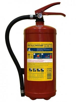 Огнетушитель порошковый ОП-4(з) МИГ (2А, 55В, С, Е) (Пожтехника)