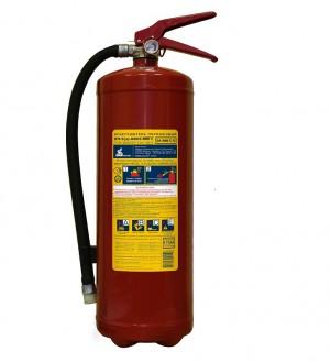 Огнетушитель порошковый с повышенной огнетушащей способностью ОП-5(з) МИГ Е (3А, 89В, С, Е) (Пожтехника)