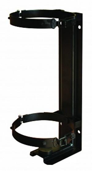 Кронштейн для огнетушителя транспортный КТХ-6 на 2-х металлических хомутах  (d147) для ОП/ОВЭ-6 МИГ (Пожтехника)