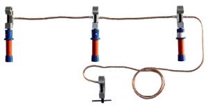 Переносное заземление ПЗРУ-1 Д сеч. 70 мм2