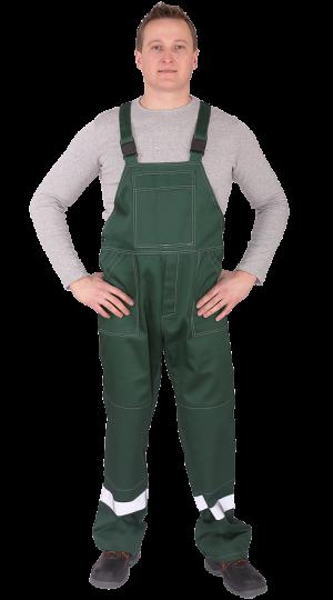 Полукомбинезон Профессионал зеленый PENTALAB