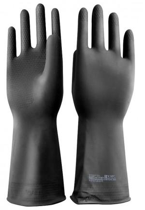 Перчатки резиновые технические с ворсовой подложкой «НЕОЛАТ Плюс» К20Щ20 тип 2
