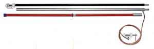 Переносное заземление штанговое ПЗ-110-220 Д сеч. 70 мм2 (винтовой зажим)