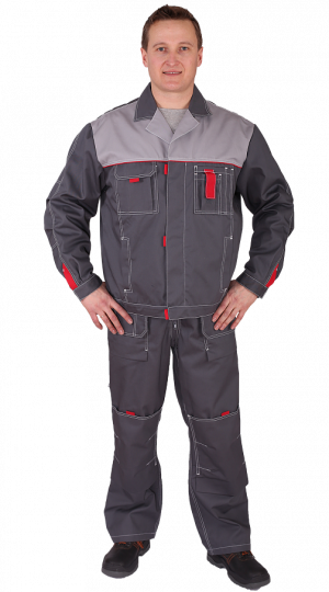 Куртка Сити-Мастер, серый PENTALAB
