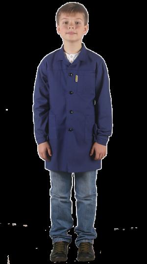 Халат детский Стажер т.синий PENTALAB