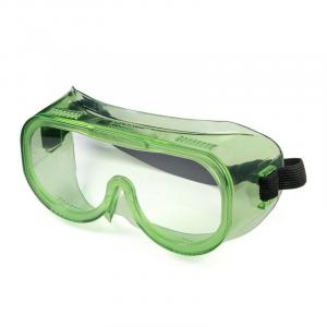 Очки защитные закрытые с прямой вентиляцией ЗП8 ЭТАЛОН (PC) 30811