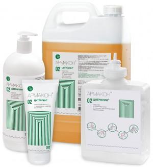 Очиститель кожи ЦИТРОЛИН 1 л (флакон с дозирующей насадкой)