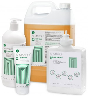Очиститель кожи ЦИТРОЛИН 1 л (картридж)