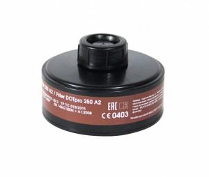 Запасной фильтр к противогазу ДОТ про 250 марки А2