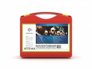 Аптечка коллективная для ОФИСА и ПРОИЗВОДСТВА СТС (до 30 чел., пластиковый чемоданчик, СТС)