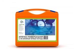 Аптечка УНИВЕРСАЛЬНАЯ СТС (оранжевый чемоданчик, СТС)