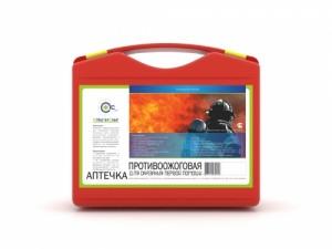 Аптечка ПРОТИВООЖОГОВАЯ СТС (пластиковый чемодан, СТС)