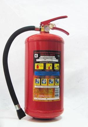 Огнетушитель ручной ОП-4з АВСЕ