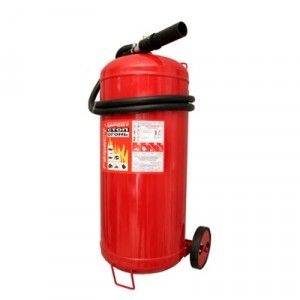 Огнетушитель передвижной ОВП-40 (з) морозостойкий