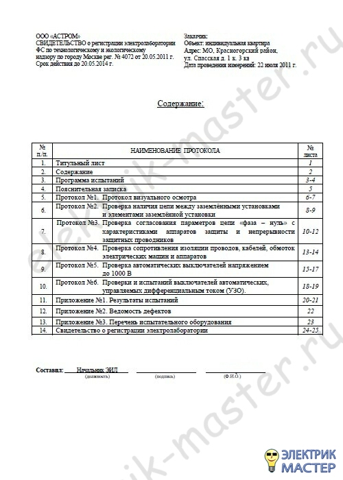 Технический Отчет Пнр Образец - фото 2